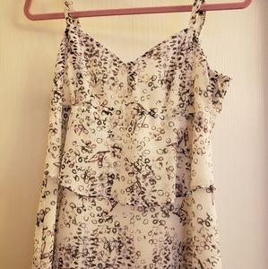 Pretty CAbi tiered summer camisole
